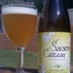 Beer Review: Brasserie de Cazeau, Saison Cazeau