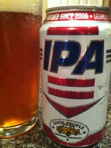 Good People Brewing Company, IPA