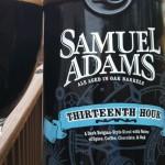 Beer Review: Sam Adams, Thirteenth Hour