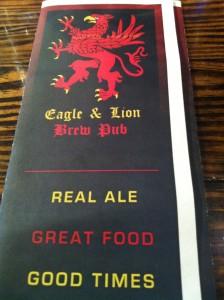 Eagle & Lion flyer