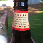 Beer Review: Founding Fathers Brewing Co., Founding Fathers Lager Beer