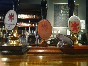 Pump Clips at The Eagle & Lion