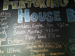 Chalkboard, Lion & Eagle