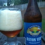 Beer Review: Green Flash Brewing Co., Rayon Vert