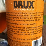 Beer Review: Sierra Nevada & Russian River, BRUX Domesticated Wild Ale