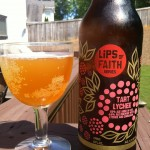 Beer Review: New Belgium Brewing, Tart Lychee (Lips of Faith)
