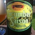 Beer Review: Cigar City Brewing, Cucumber Saison