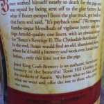 Beer Review: Jester King Craft Brewery, Boxer's Revenge
