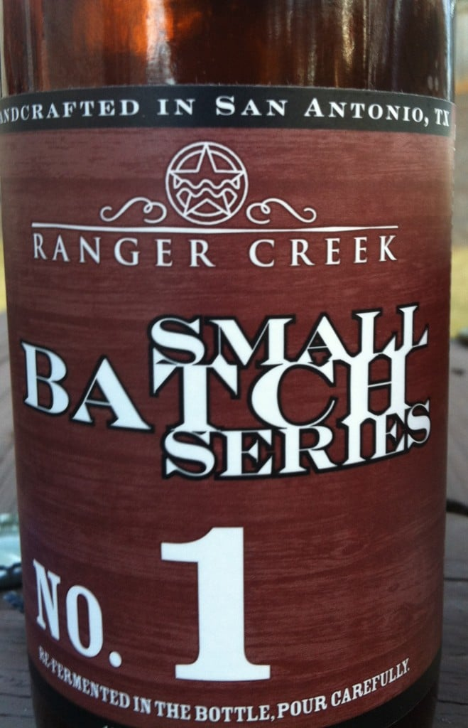 Ranger Creek, Small Batch Series No: 1