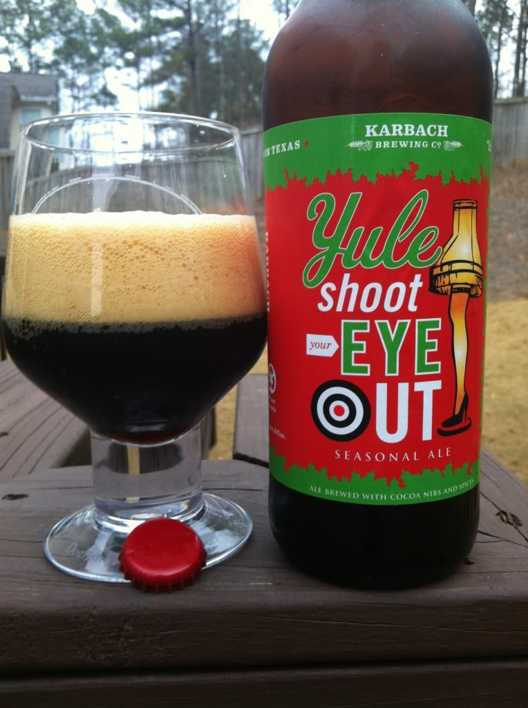 Karbach, Yule Shoot Your Eye Out