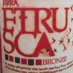 Beer Review: Dogfish Head, Birra Etrusca Bronze