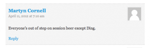 Martyn Cornell on Ding & Session Beer